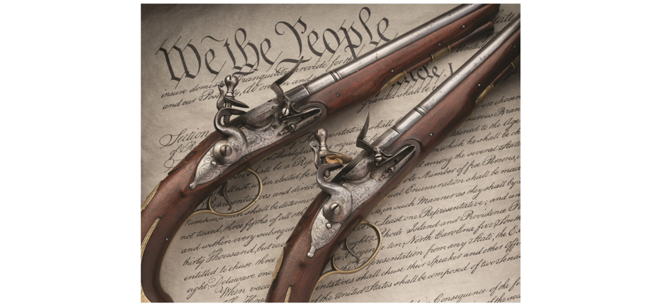 Rock Island Auction Company is auctioning a brace of pistols once owned by Alexander Hamilton. They're similar to the type of gun that killed him, in his fatal duel with Aaron Burr.