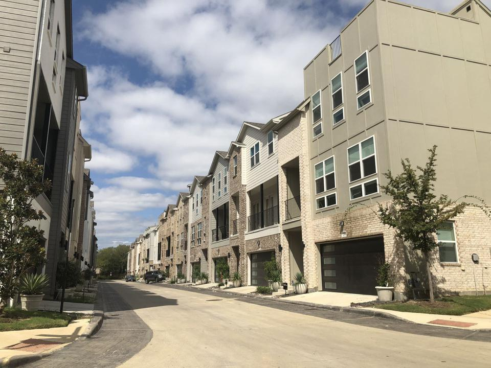 Townhomes in West Dallas