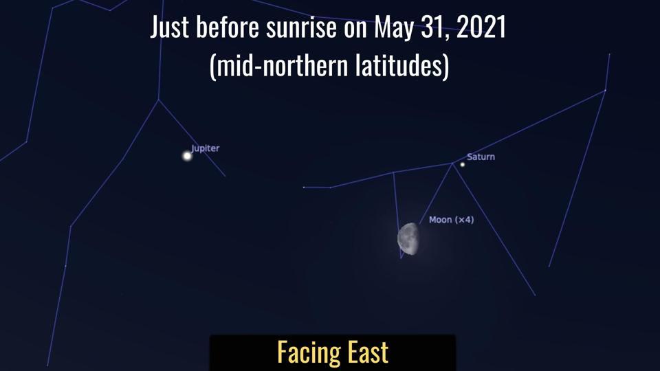 Monday, May 31, 2021: Moon and Saturn