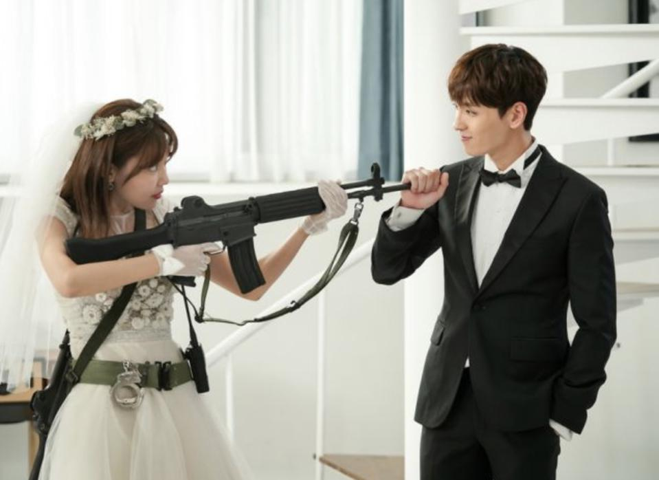 Can a marriage between a k-pop star and his anti-fan succeed? Watch the reality show.