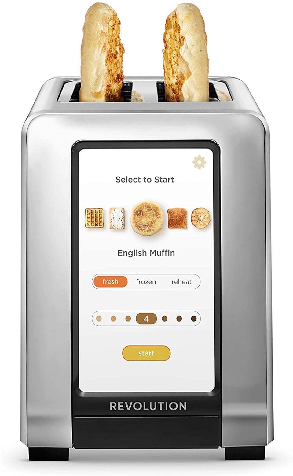 Revolution High Speed Smart Toaster