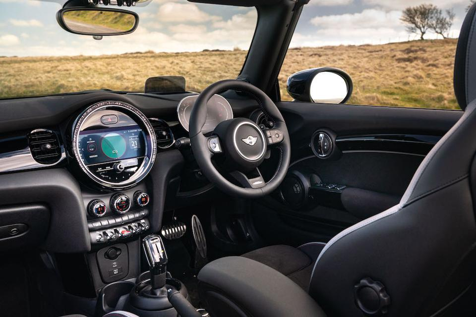 Inside the 2021 MINI