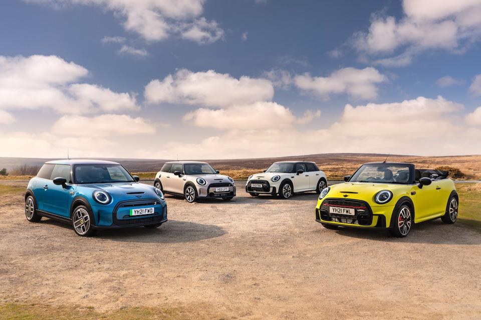 The MINI range in Hatch, Convertible, JCW and Electric for 2021