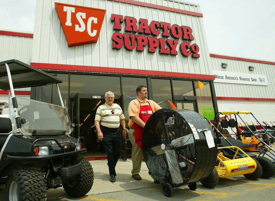 Tractor Supply storefront