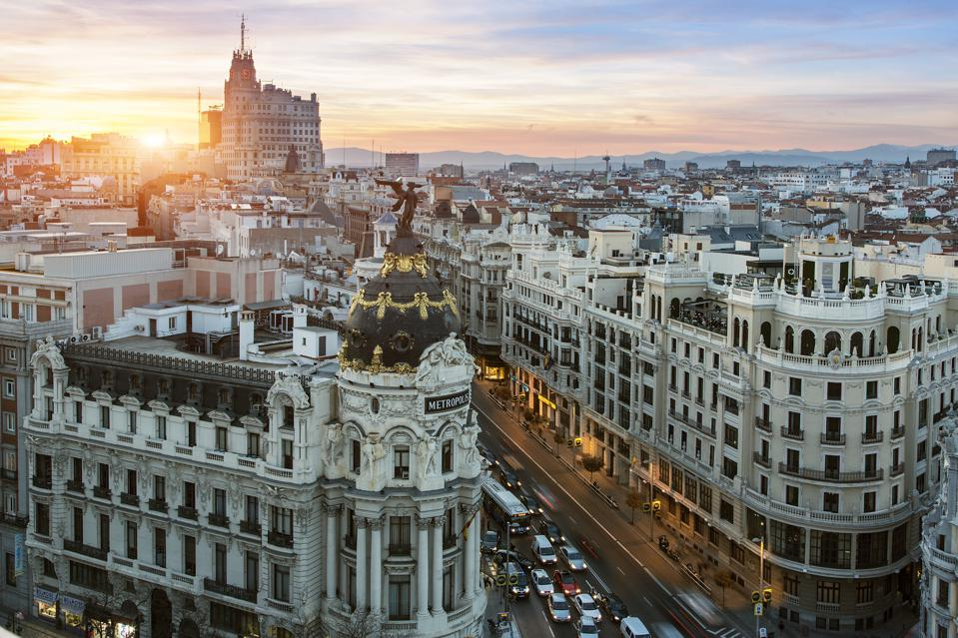 Madrid Spain cheap Europe summer travel