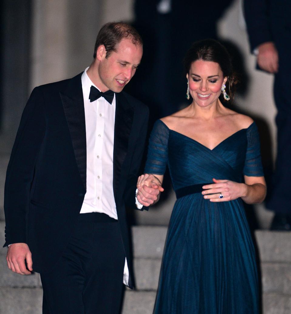 The Duke And Duchess Of Cambridge Sighting In New York City - December 09, 2014