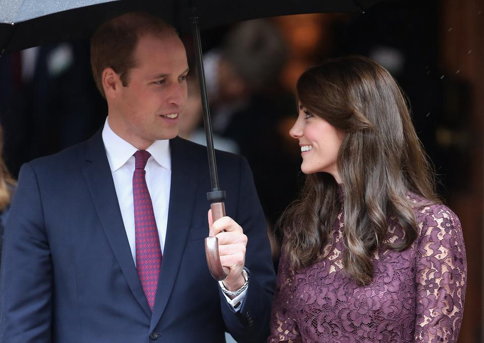 William and Catherine, Duke and Duchess of Cambridge in London in 2015.