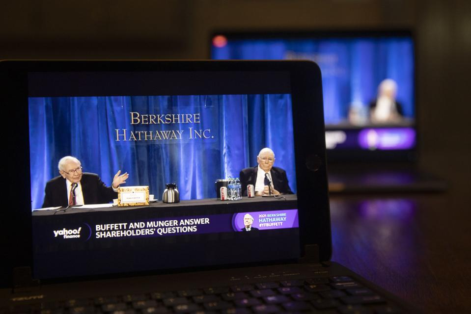 Berkshire Hathaway Holds Annual General Meeting Via Livestream