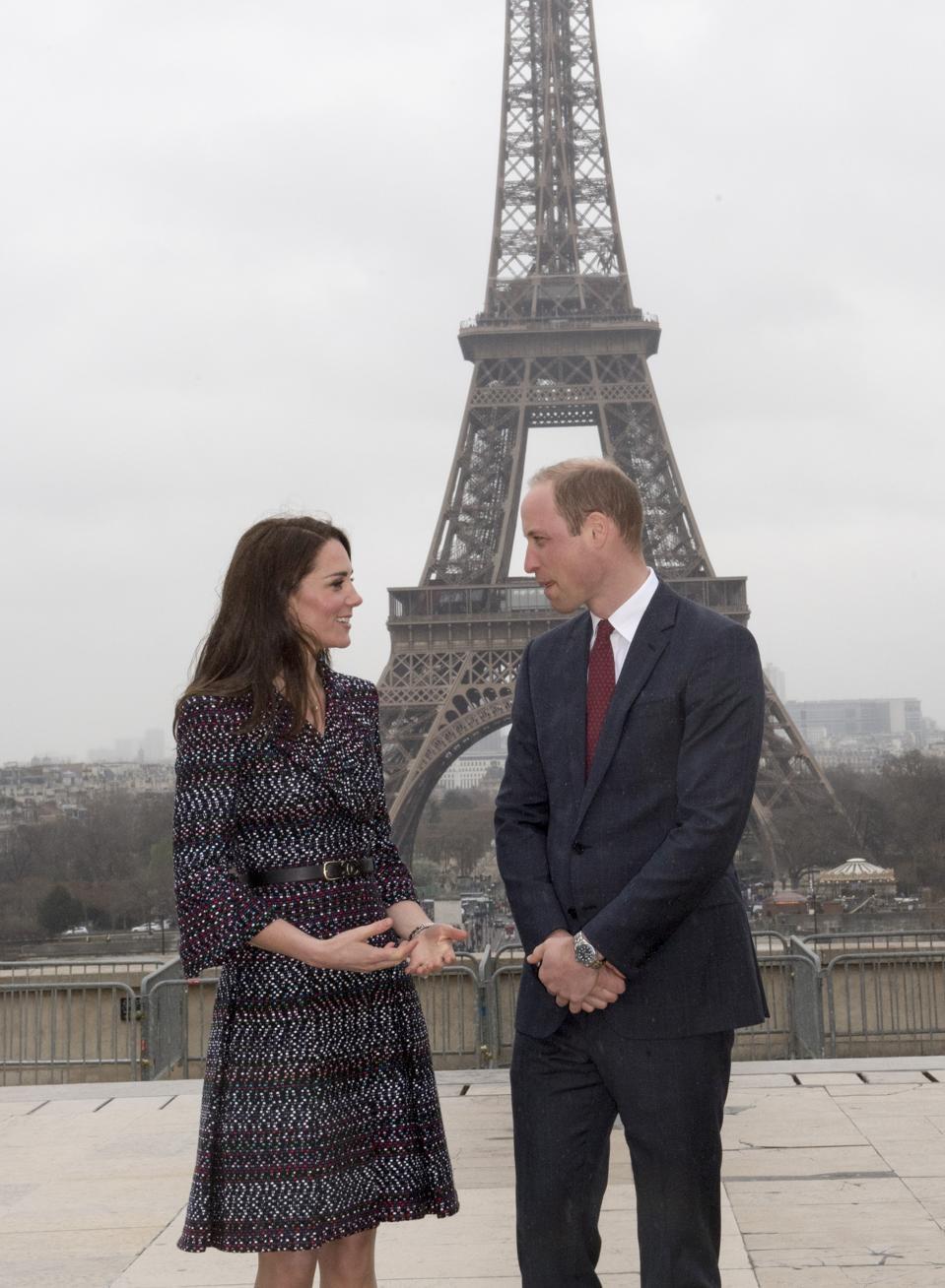 The Duke And Duchess Of Cambridge Visit Paris: 2017