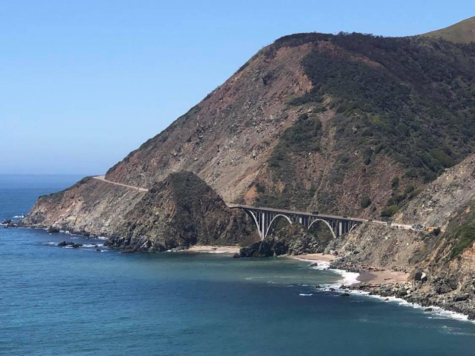 Highway 1 on California's Central Coast opened in 1937.