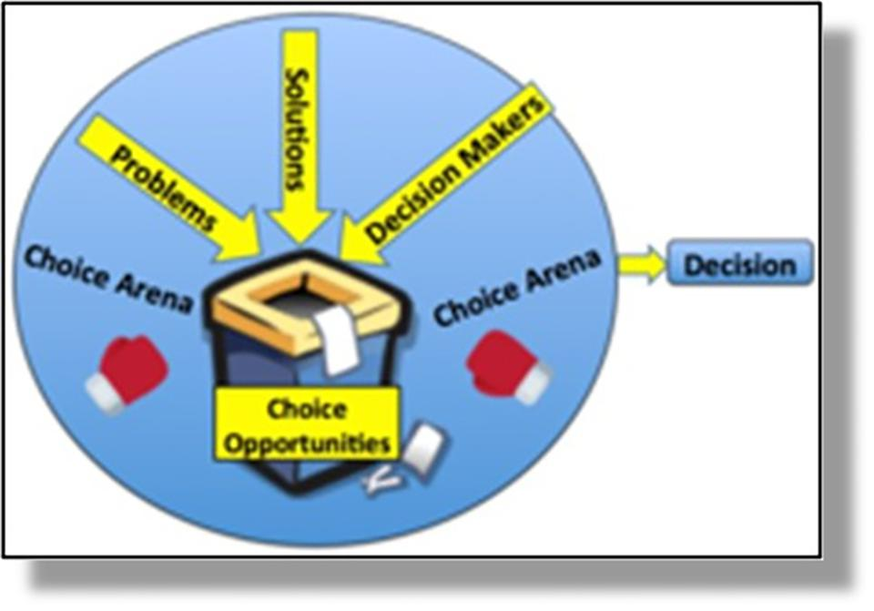 Figure 2: ″Garbage can″ organizations