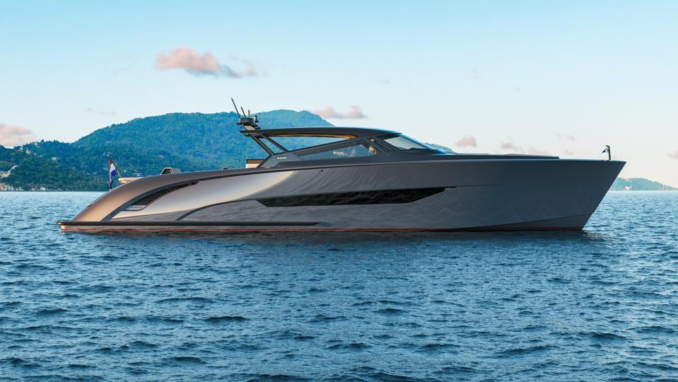 Profile of new Wajer 77 yacht