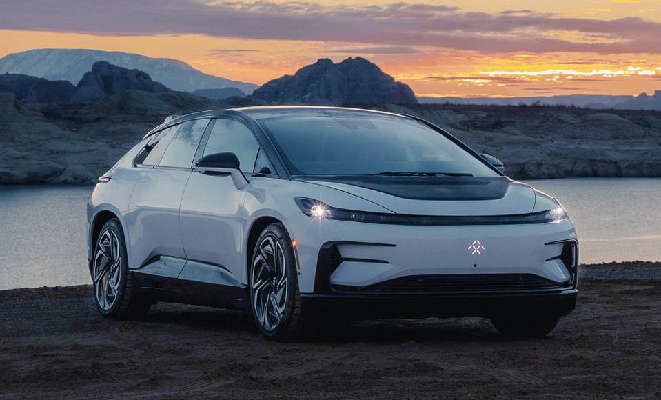 Production intent Faraday Future FF91