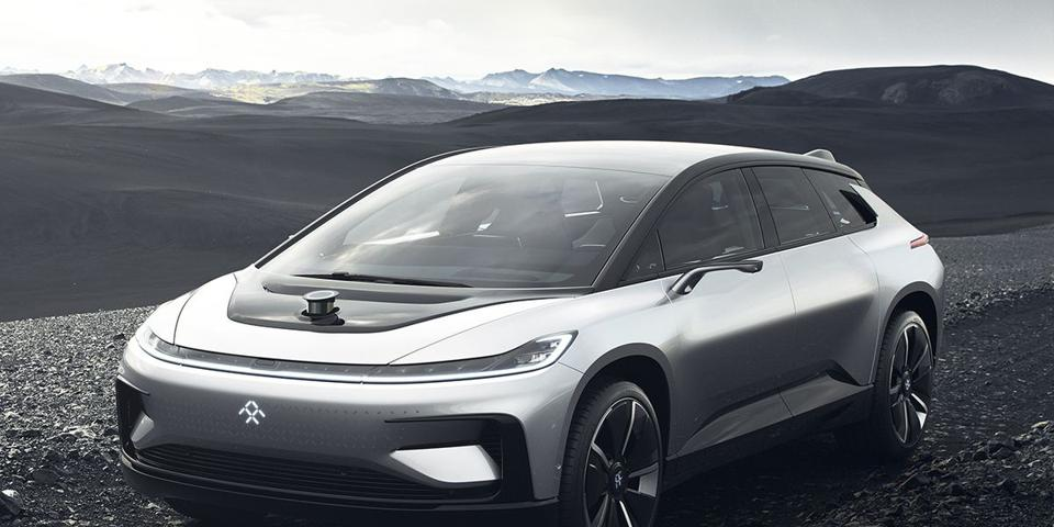 When the Faraday Future FF91 was first unveiled in January 2017, it featured a rotating lidar sensor that rose up from the hood. The production version is planned to use two solid state lidar sensors mounted somewhere in the front bodywork