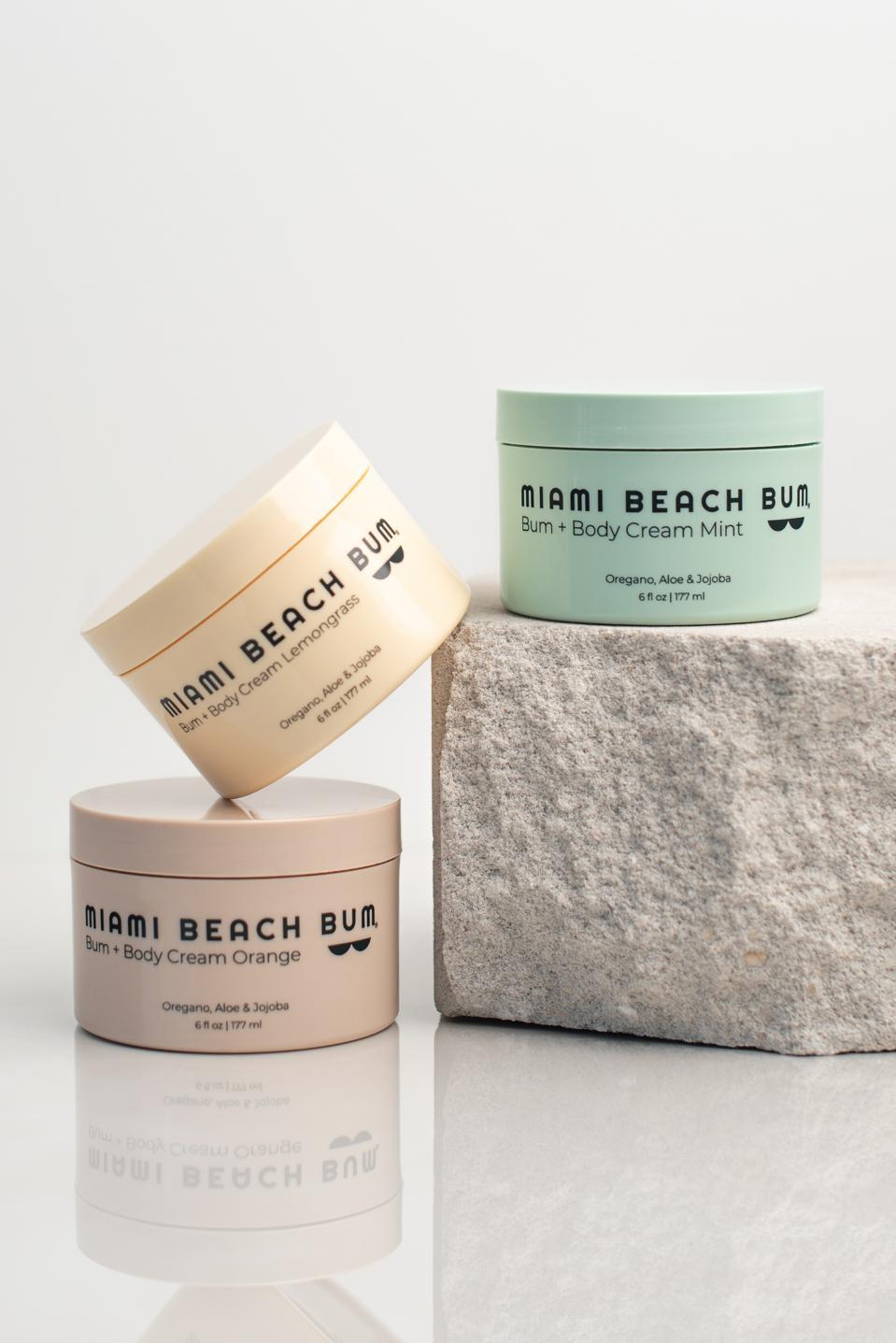 MIAMI BEACH BUM Bum and Body Cream