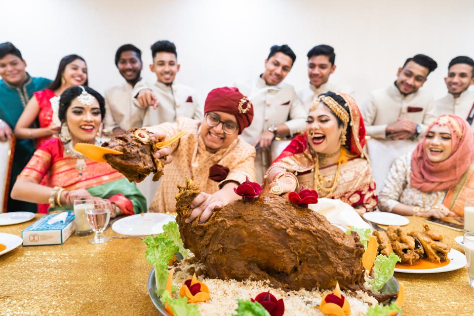 Food Photo competition: traditional wedding in Bangladesh.