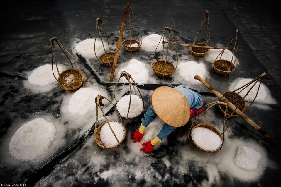 Food Photo Contest: Harvesting sea salt in Viet Nam