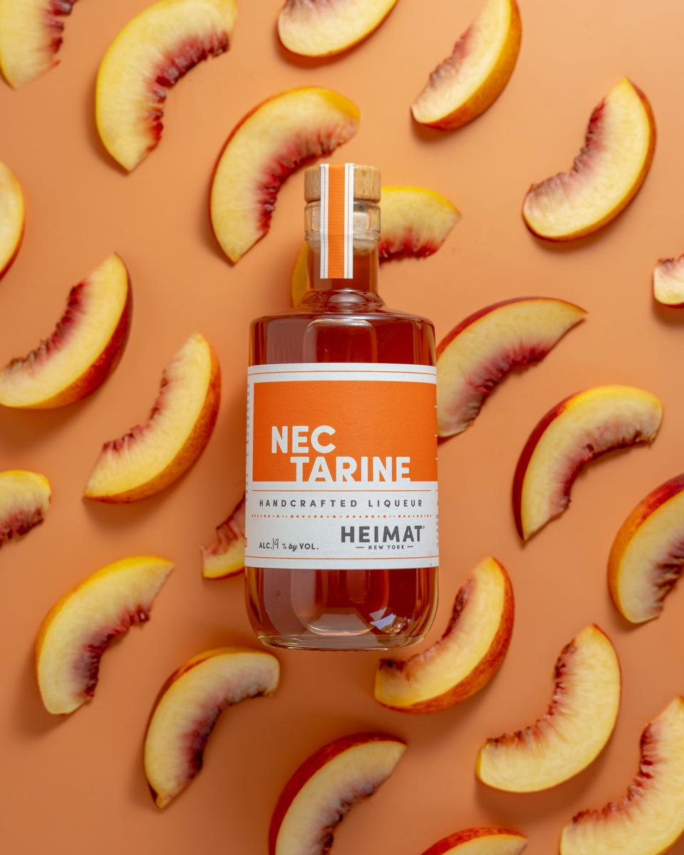 Nectarines are using in making Heimat fruit liqueurs.