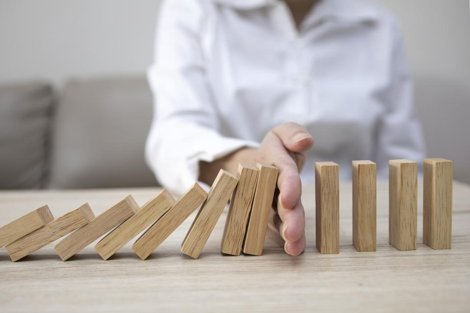 Don't let your startup fall like these dominoes.