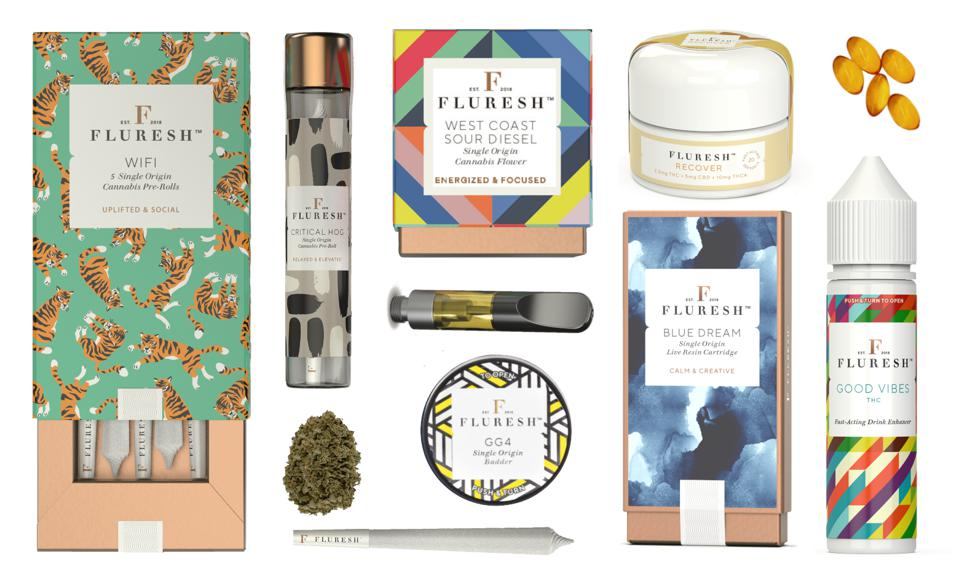 The Fluresh Collection of premium cannabis products.