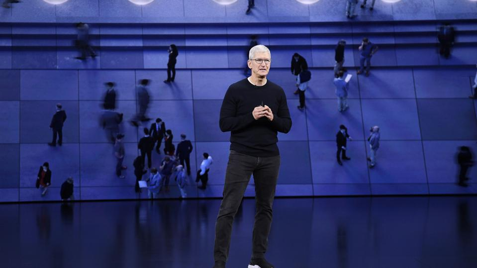 Apple Holds Unveiling Event For Media And Entertainment Services