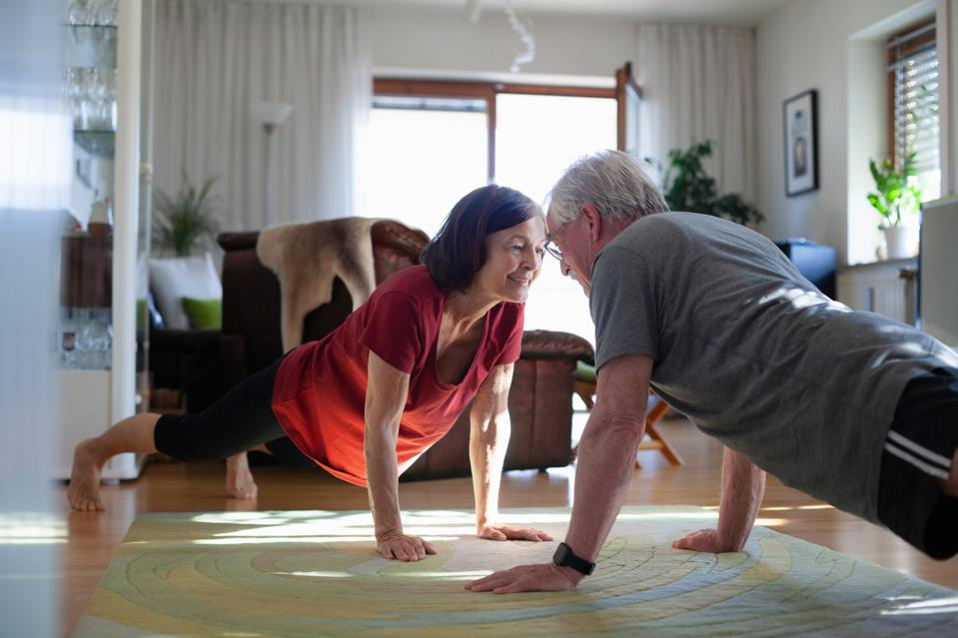 health, healthy aging, marketing, exercise, makret segmentation