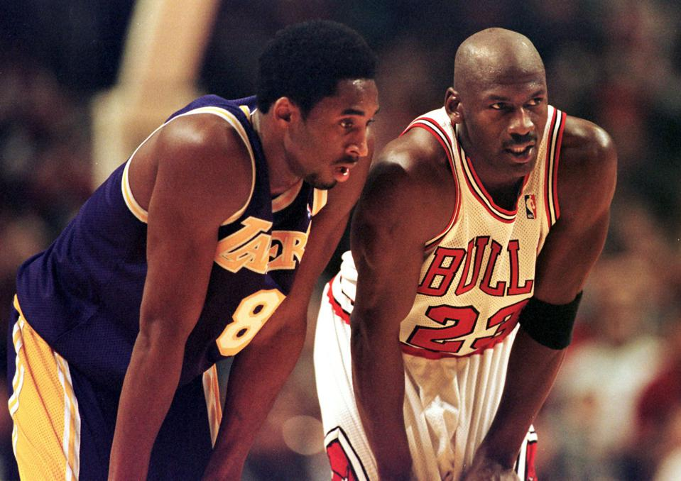 NBA legends Kobe Bryant and Michael Jordan trained with Tim Grover, author of Winning.