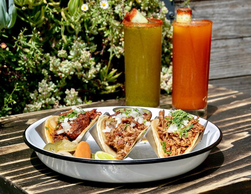Batch & Brine's new tacos.