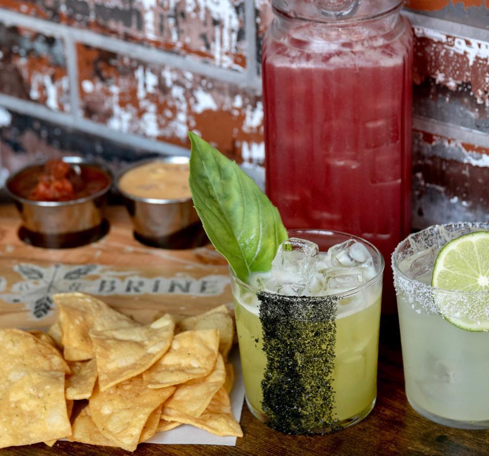 Batch & Brine cocktails.