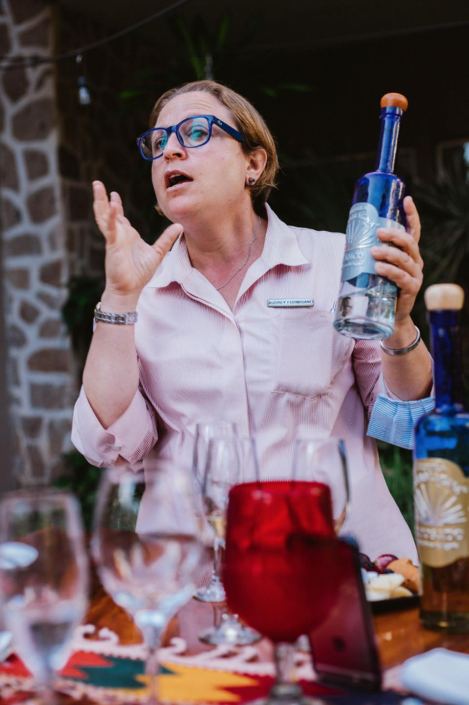 Tequila sommelier, Audrey Formisano.
