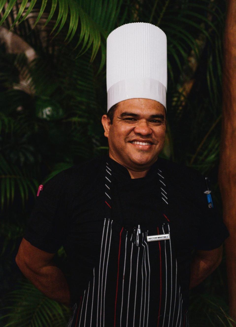 Chef Hector Martinez of the Marriott Puerto Vallarta Resort & Spa.