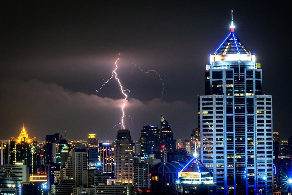 THAILAND-WEATHER-LIGHTNING