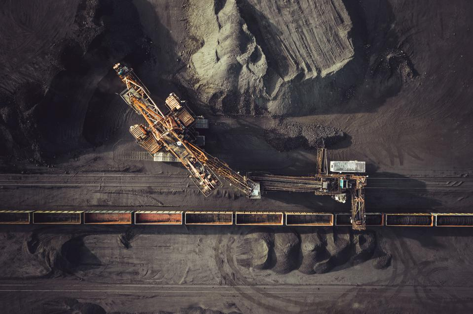 Coal mining from above