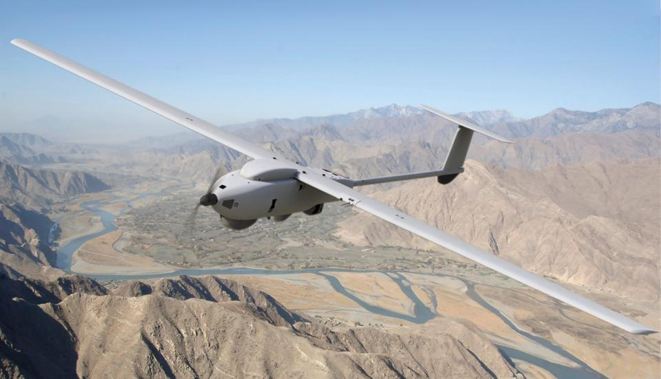 The Lockheed Martin Stalker on patrol.