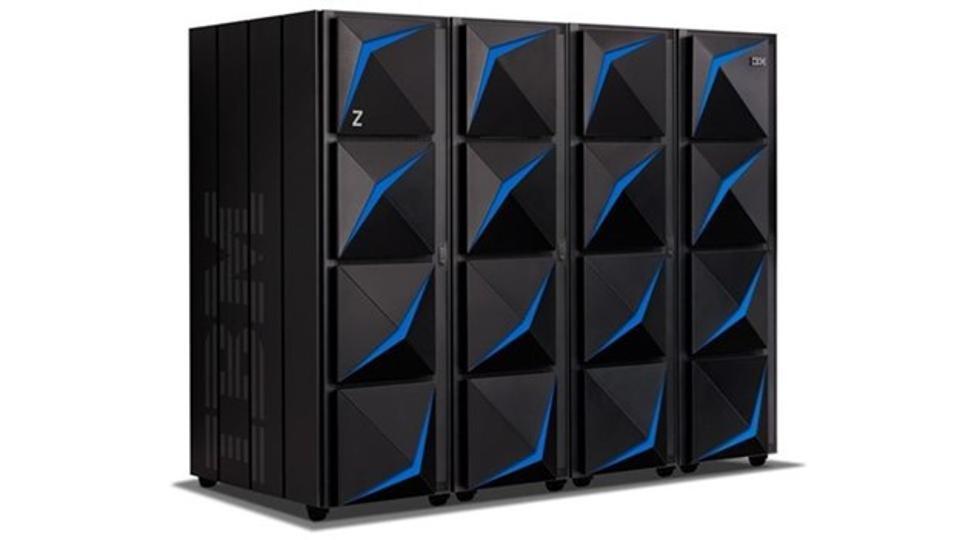 Four frame IBM z15