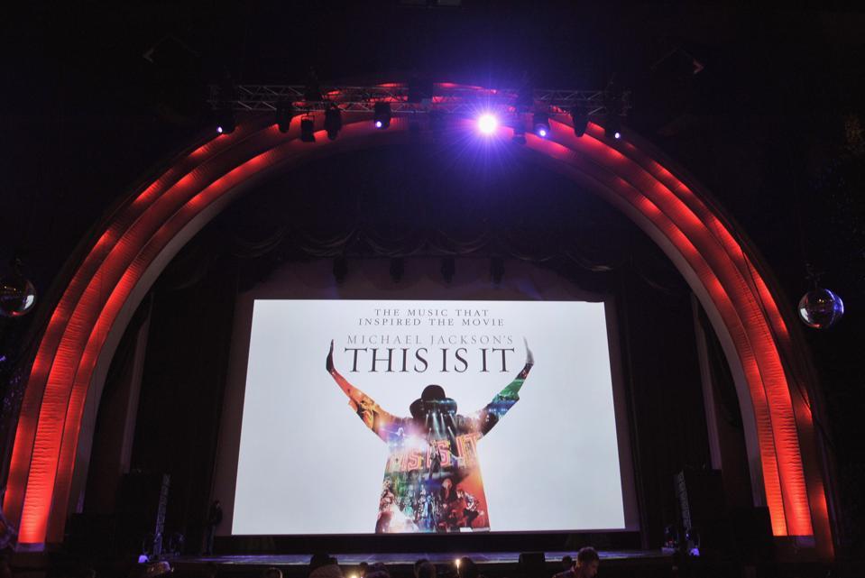 Michael Jackson's ″This Is It″ Premiere In Paris