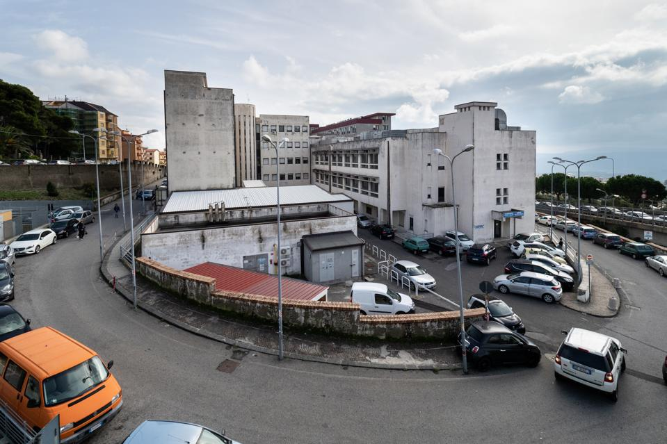 A view of the ″Arnaldo Pugliese Ciaccio″ Hospital in...
