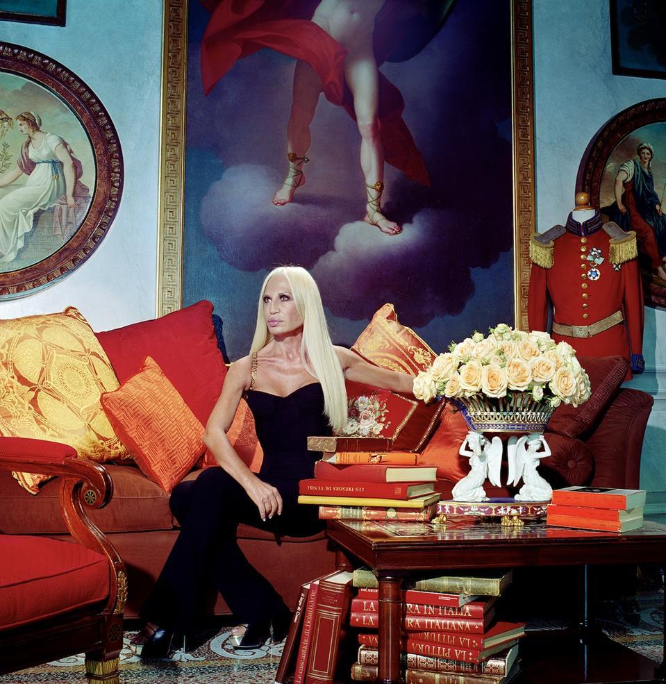 Donatella Versace by Miles Aldridge