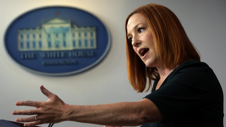 Press Secretary Jen Psaki Holds Daily White House Briefing