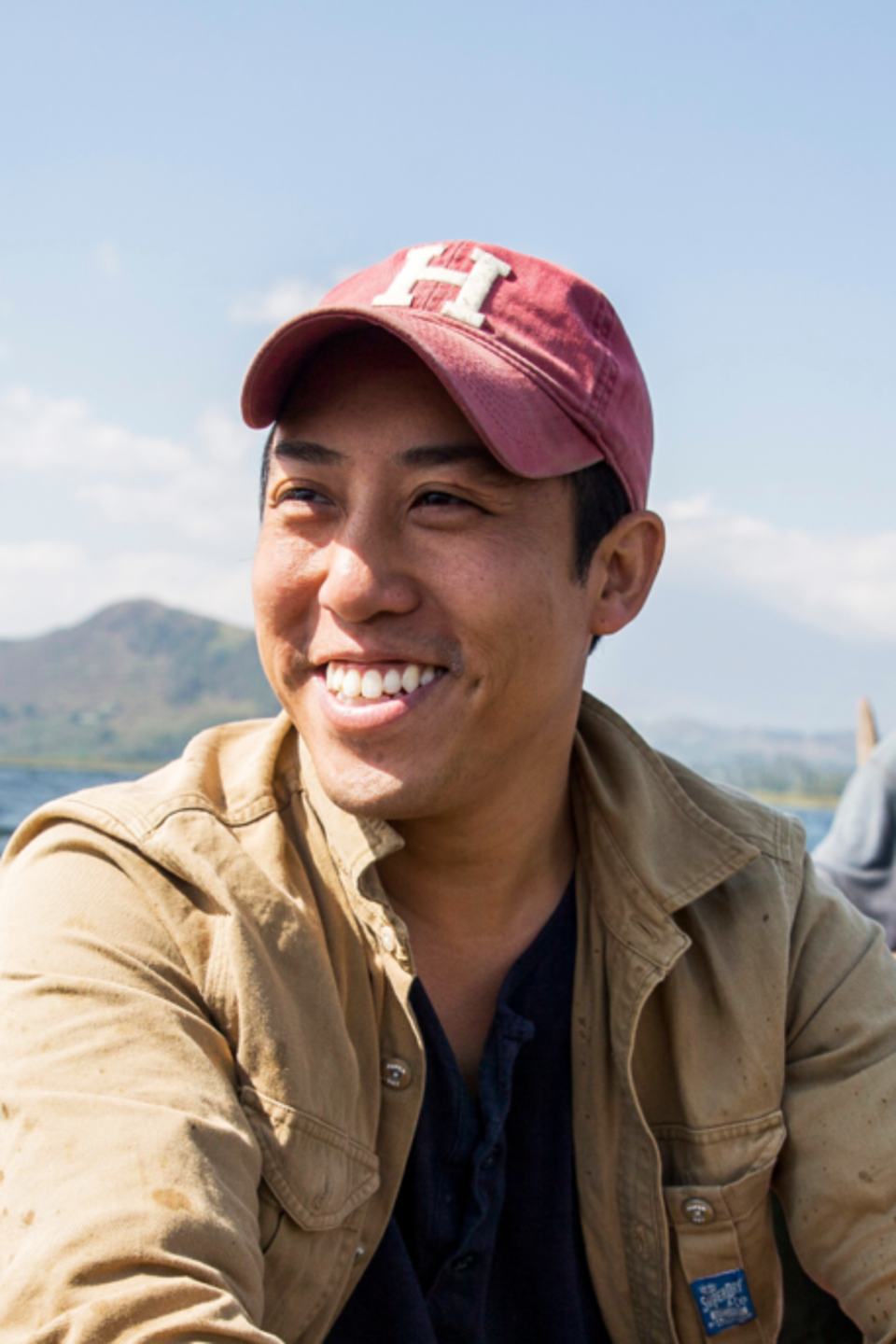 Shawn Cheung who is the Founder and CEO of Raising The Village