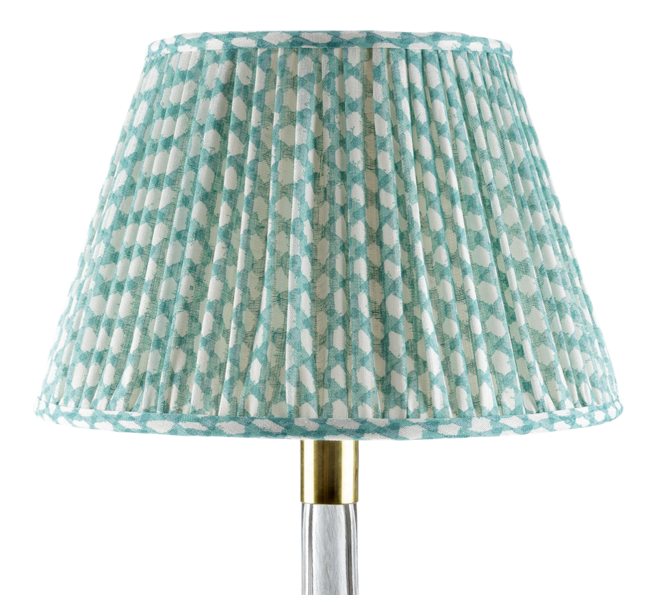 Fermoie Turquoise Lampshade