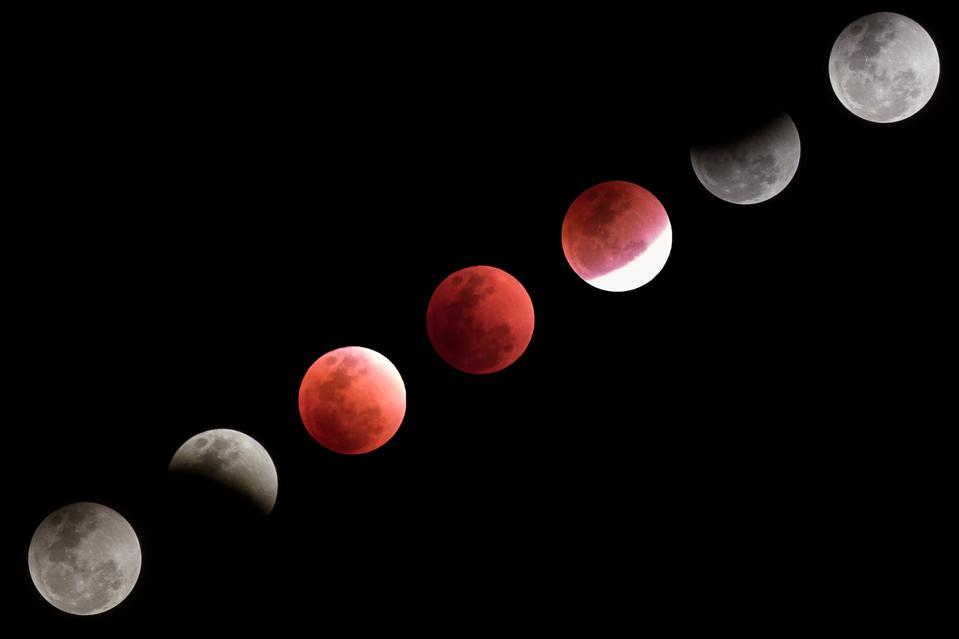 The month's marquee astronomical event is a total lunar eclipse—a ″Blood Moon″—on May 26, 2021.