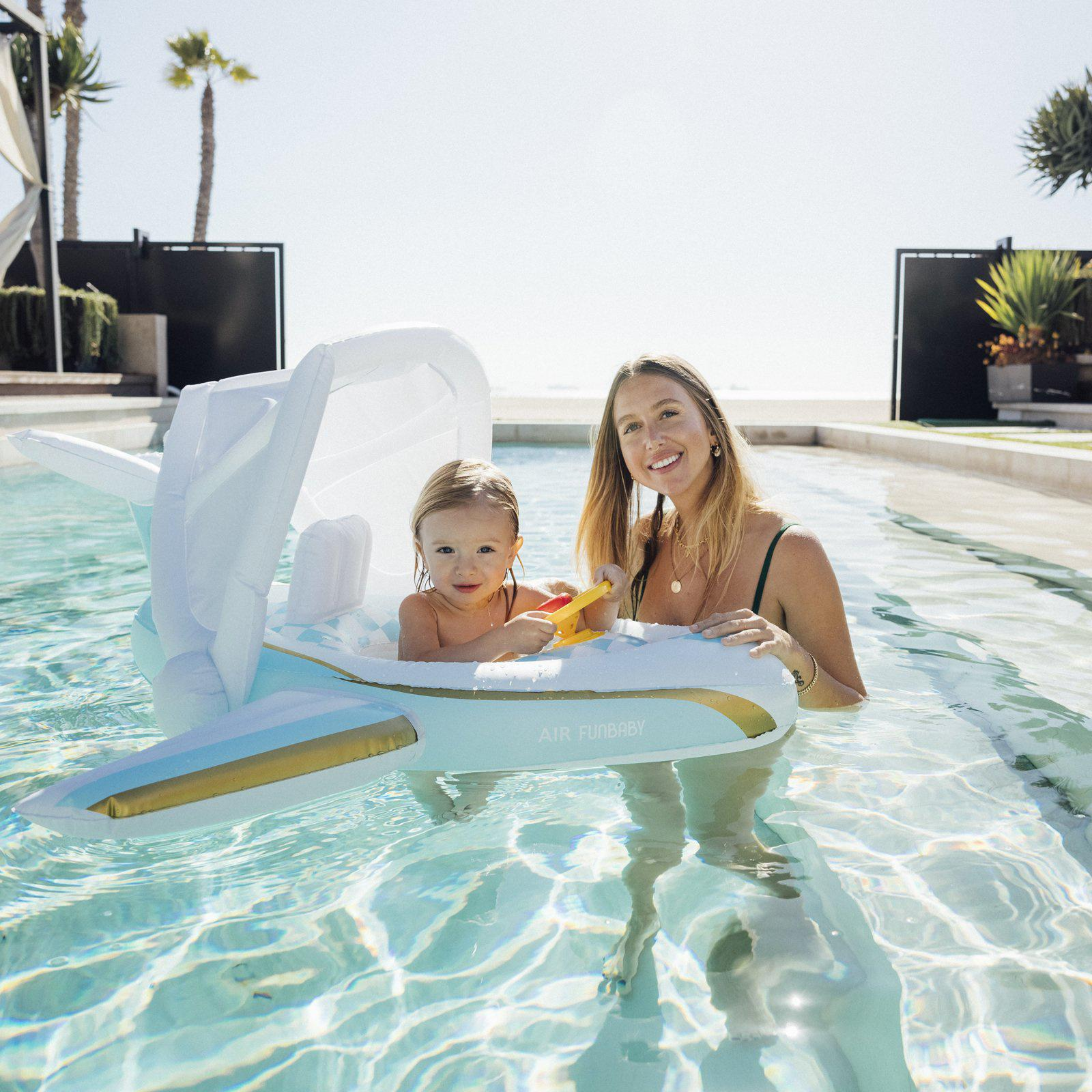 Funboy just launched Funbaby, a line of fun floaties for kids.