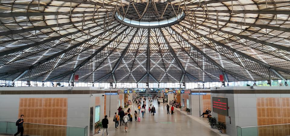 China Shanghai South Railway Dome