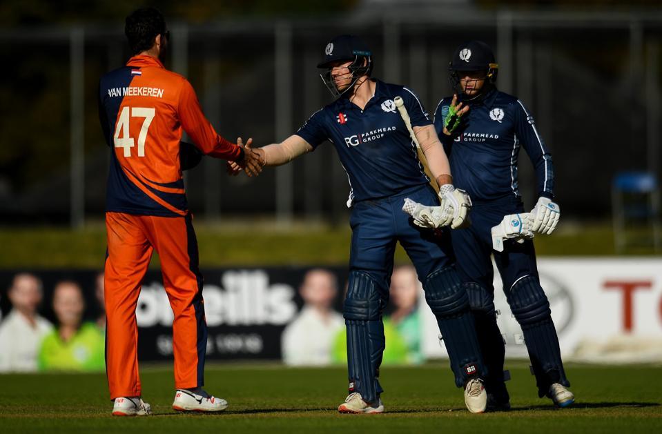 Scotland v Netherlands - T20 International Tri Series