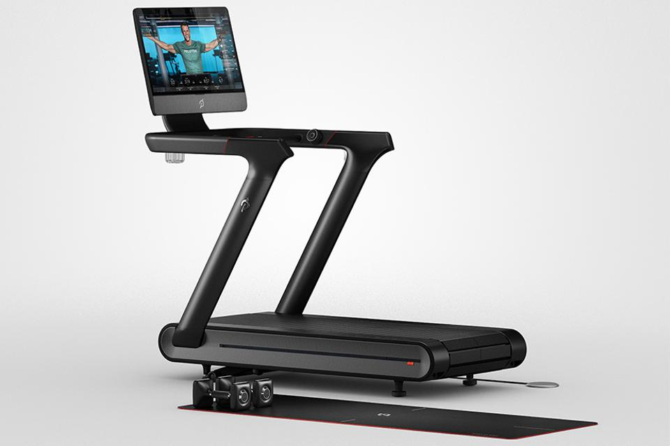 Peleton's Treadmill+, which was recalled by the company on May 5, 2021