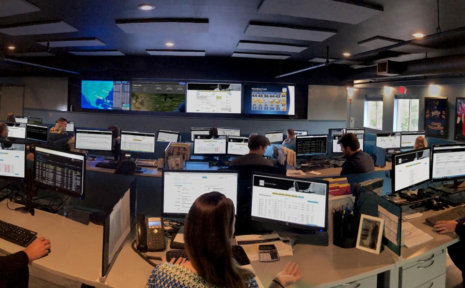 private jet operations center