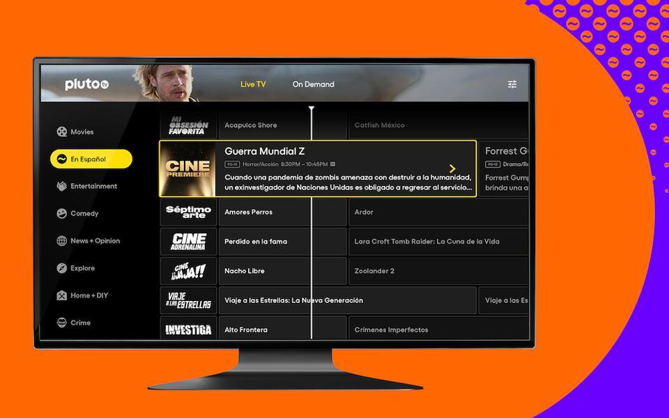 Pluto TV en español