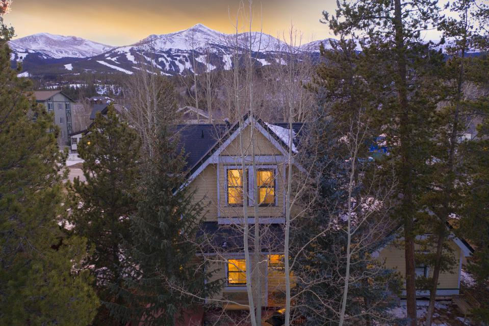 exterior and mountain view 312 North French Street BRECKENRIDGE, CO, USA