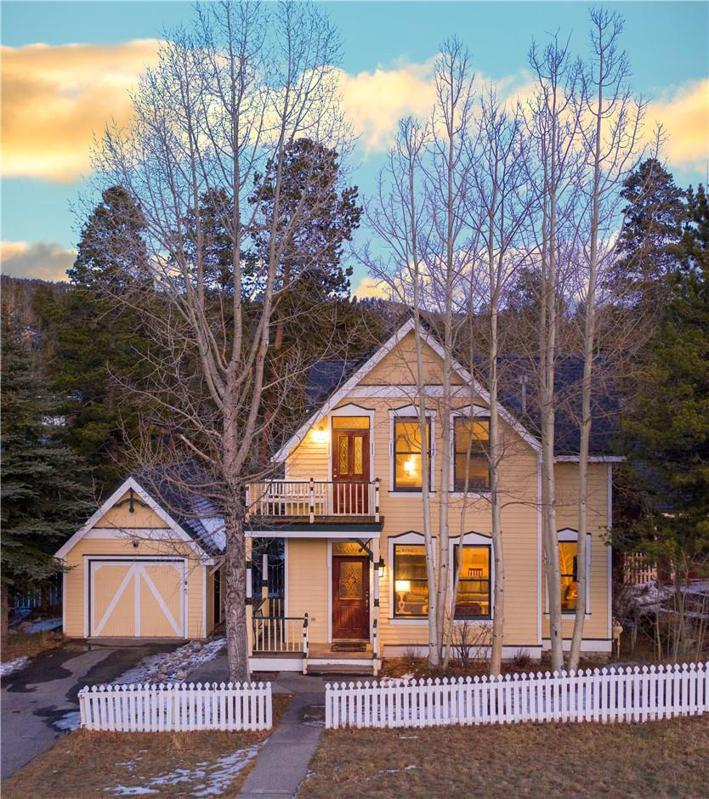 front exterior colorado remodeled victorian 312 North French Street BRECKENRIDGE, CO, USA